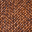 Rattan Weave Background Macro Image — Stock Photo