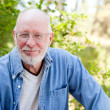 Stock Photo: Happy Senior Man Outdoor Portrait