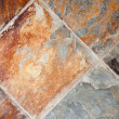 Richly Colored Decorative Stone Floor or Wall — Stock Photo