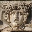 Foto de Stock  : Face Relief from Ephesus, Turkey