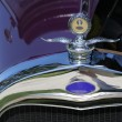 Purple Vintage Car - Stock Photo