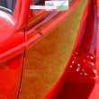 Red Vintage Car — Foto de Stock