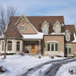 Majestic Newly Constructed Home — Stock Photo #2352995