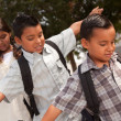 Hispanic Children Walking to School — Stock Photo #2353138