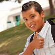 Young Hispanic Boy Ready for School — Stock Photo #2353154