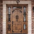 Stock Photo: Newly Constructed Doorway