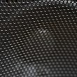 Abstract Macro of Speaker Mesh with Selective Focus - Foto Stock