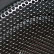 Abstract Macro of Speaker Mesh - Stock Photo