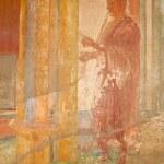 Fresco Ruins of Pompeii — Stock Photo #2355334