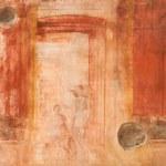 Fresco Ruins of Pompeii — Stock Photo #2355358
