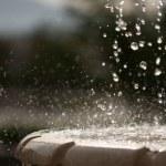 Outdoor Fountain — Stock Photo