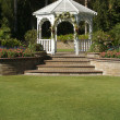 Elegant Wedding Gazebo - Stock Photo