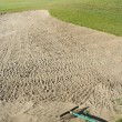 Photo: Abstract of Golf Course Bunker