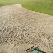 Stock Photo: Abstract of Golf Course Bunker