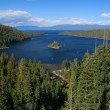 Emerald Bay in Lake Tahoe, California — Stock Photo