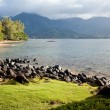 Beautiful Hanalei Bay Late One Summer Afternoon. — Stock fotografie