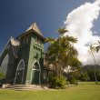 Royalty-Free Stock Photo: Church of Christ at Hanalei Town, Kauai