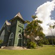 Stock Photo: Church of Christ at Hanalei Town, Kauai