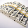 Stacks of One Hundred Dollar Bills — Stock Photo #2357993