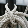 Royalty-Free Stock Photo: Abstract Boat Rope Detail