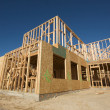 Construction Home Framing Abstract — Stock Photo #2358773