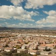 Elevated View of New Contemporary Suburban Neighborhood — ストック写真