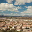 Elevated View of New Contemporary Suburban Neighborhood — Stock Photo