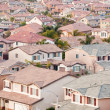 Contemporary Suburban Neighborhood — Stock Photo