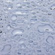 Water Drops on Glass - Photo