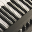 Stock Photo: Digital Piano Keys and Controls