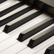 Digital Piano Keys Close-up — Stock Photo