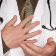 Doctor making Hand Gesture — Stock Photo #2359811