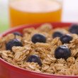 Royalty-Free Stock Photo: Bowl of Granola, Berries and Juice