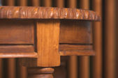 Wood Table Detail Abstract Image — Stock Photo