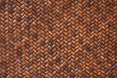 Rattan Weave Background Macro Image — Stock Photo