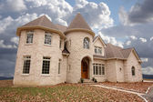 Majestic Newly Constructed Home — Stock Photo