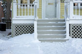 Home Facade and Steps — Stock Photo