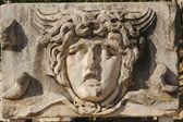 Reliéf obličeje z efesu, turecko — Stock fotografie