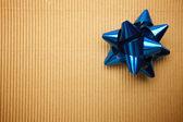 Sfondo scatola regalo di cartone ondulato — Foto Stock