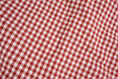 Red and White Picnic Blanket — Stock Photo
