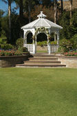 Elegant Wedding Gazebo — Stock Photo