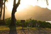 Sunset on Hanalei Bay — Stock Photo