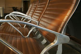 Airport Seating Abstract — Stock Photo