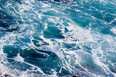 Deep Blue Ominous Ocean Water Background — Stock Photo