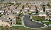 Contemporary Suburban Neighborhood — Stock Photo