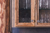 Luxurious Rustic Cabinet Doors Close Up Abstract — Stock Photo
