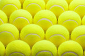 Macro Set of Brand New Tennis Balls. — Stock Photo