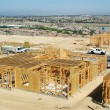 Foto de Stock  : New Home Construction Site