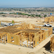Stock Photo: New Home Construction Site