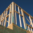 Construction Home Framing Abstract — Foto Stock